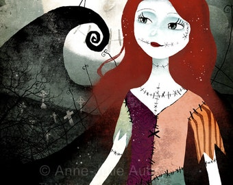 A Nightmare Before Christmas 50/100 - Deluxe Edition Print