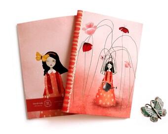 Hello You - A5 Handmade Notebook