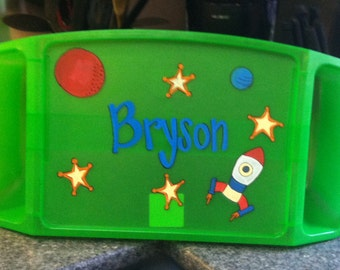 Personalized Space Themed Lap Tray