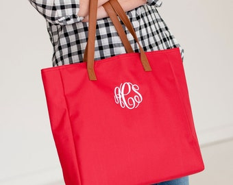 Personalized Monogram Tote Bag 8 Styles