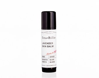 Lavender Skin Balm Organic Ingredients .5 oz