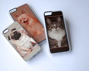 Custom Photo Phone Case, iPhone 6 Case, iPhone 6s Case, iPhone 5s case, iPhone 6 Plus Case, iPhone 6s Plus, 5, 5c, 6, SE Case, Clear