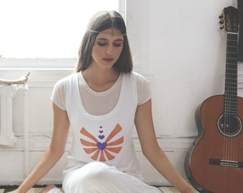 yoga catsuit // white romper // kundalini clothes