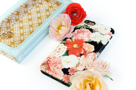 iPhone 6S Case Floral Bunch iPhone 5C Case, Flowers iPhone 5S Case, Floral iPhone 6S Plus Case, iPhone 6 Plus Case Gift for Wife