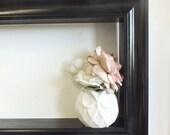 "For Him Black Framed Shelf 3.5"" deep"