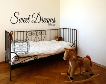 Sweet Dreams Little One Wall Decal