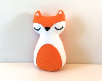 Fox Decor - Fox Plush  - Freddy The Fox - Fox Nursery Decor - Baby Fox Gift - Woodland Decor - Fox Decor
