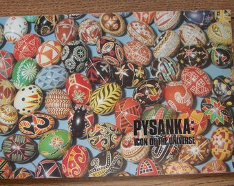 Vintag 1977  PYSANKA  - A How-To Egg Decorating Book