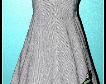 Vintage Rockabilly Hot Rod Dress ...Size M