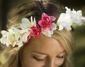 Heather Floral Crown Silk...