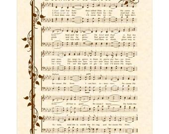 old rugged cross lyrics pdf