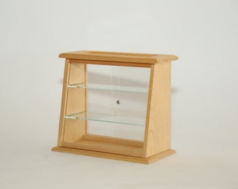 Mini Wooden Display Cabinet