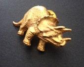 Triceratops Tack Pin