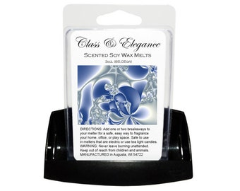 CLASS & ELEGANCE Soy Melts // Wax Tarts // Soy Tarts // Candle Tarts // Melting Tarts // Scented Tarts // Dye Free