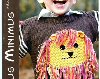 Circus Minimus - Skacel Knitting Pattern Book - 5 Designs for Kids Sizes 2 - 8