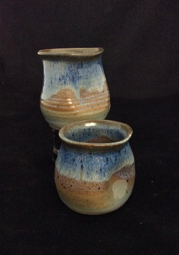 Thumblers (Small)/ handmade/ Ocean landscape Glaze