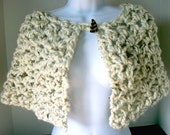 Outlander inspired capelet, cream, Women/Teens by AngelAndFairyDesigns on Etsy.com