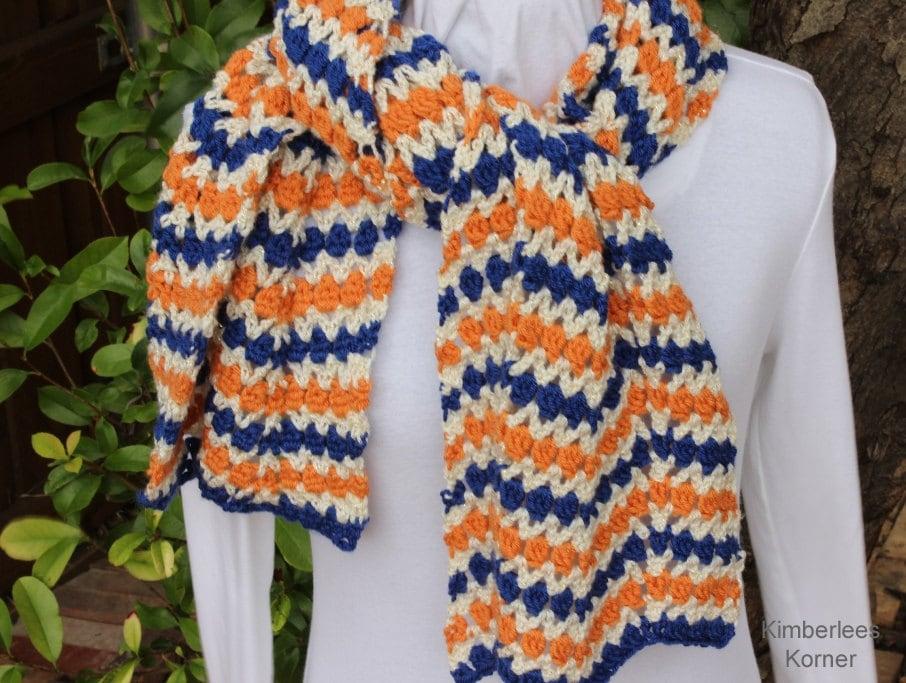 Crochet Patterns Nfl Teams : Crochet Pattern Team Spirit Crochet Ripple by KimberleesKorner