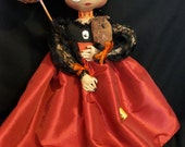Primitive art doll,Beautiful hand made Halloween fairy, original design by Dumplinragamuffin, OFG,HAFAIR