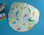 Toddler/Kid Dino Cycling Cap- Gender Neutral Dinosaurs