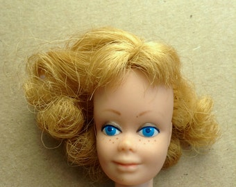 Vintage 1960's MIDGE doll.  Barbie's friend.  Straight legs.  Clean body.  Mattel