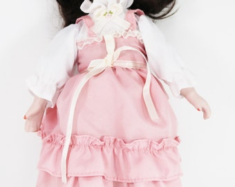"12"" Bisque Doll Nostalgie-Puppe Porzellan  ~ German Handmade Porcelain Doll"