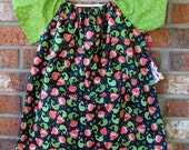 Mermaid Green and Pink Size 4T Toddler Girls Flutter Sleeve Dress Ready to Ship
