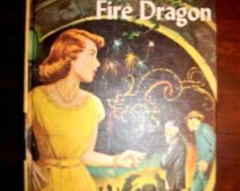 Vintage Nancy Drew Mystery of the Fire Dragon