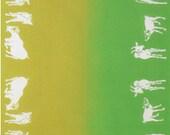 Japanese Tenugui Towel Cotton Fabric, Kawaii Goat, Animal Fabric, Various Design, Modern Art Design, Wall Art Hanging, Wrapping, Scarf, r010