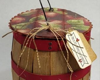 PDF Tutorial, Harvest Basket Mini Album, Instant Download, Multi Photo, Fall, Autumn, Apple Picking