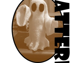 Crochet Pattern: Ghost Costume for American Girl and similar 18 inch dolls
