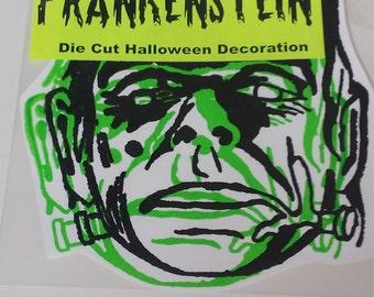 Frankenstein Die Cut Halloween Decoration