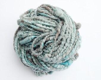 Art Yarn - Woolly Waves - Handspun Art Yarn for Knitting - Handspun Yarn UK