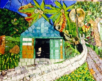 Custom Haiti Chapel Mosaic