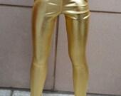 BJD gold wet look surface leggins sd, msd, yosd various sizes