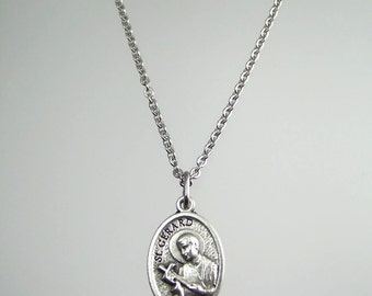 Saint Gerard Medal Necklace