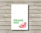 PIZZA PARTY Design THANKYOU Card, Instant Download Thank you, Kids, Birthday, Cooking Party, Kitchen Tea, Party, 6x4 Thank you Card