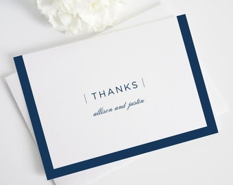 Sophisticated Modern Thank You Cards - Modern, Script, Bold, Preppy Thank You Card