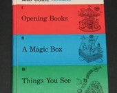 1965 Teacher's Annotated Edition and Guide to accompany Opening Books A Magic Box and Things You See - pre-primers guidebook