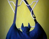 BAT BAG, Batwoman Batman bag, bat wings bag, creepy cute bag, goth bag, Halloween accessories, vampire costume, bat purse