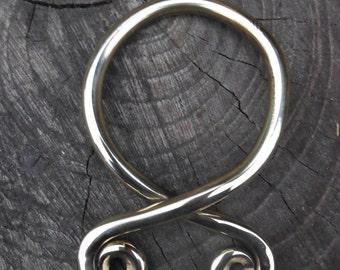 Troll cross  brass pendant