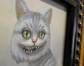 Cheshire Cat. Original Oil Painting