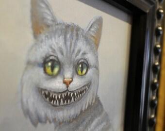 Cheshire Cat. Original Oil Painting