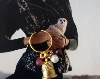 THIMBLE ring