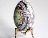 Gifr for mom from daughter pysanka egg Easter egg pysanka Goose egg shell