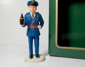 Coca-Cola Town Square Collection Item Officer Pat #64317 Collectible Christmas Village Coke Decoration