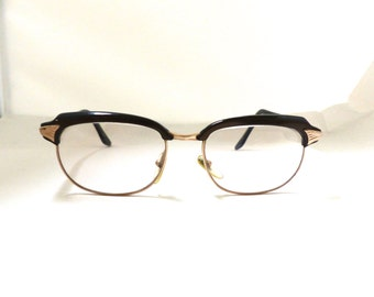 Vintage Menrad Gold filled Browline/ Cat Eye Glasses frames./womens small size #A7