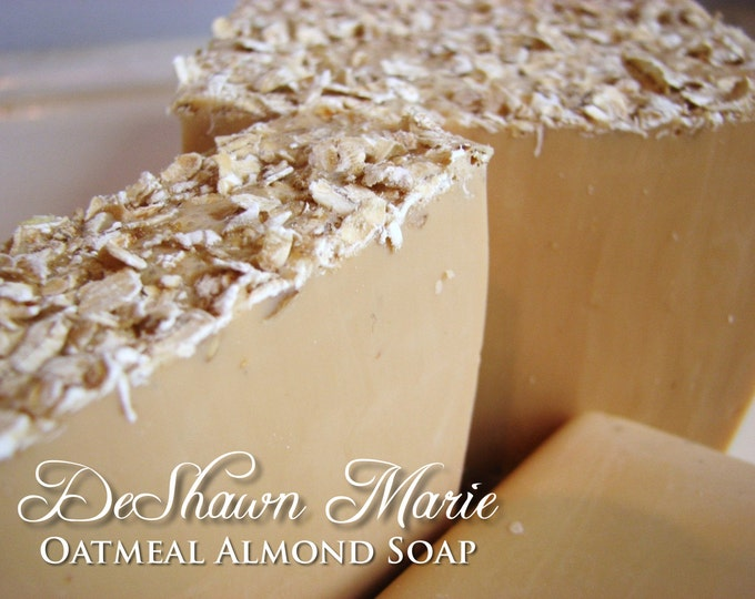SOAP - 3 lb. Oatmeal Almond Soap Loaf, Vegan Soap Loaf, Handmade Soap Loaf, Wholesale Soap, Wedding Favors, Wholesale Soap Loaves