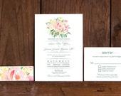 PDF  Wedding Invitation- no physical items