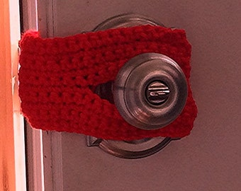 Door Knob Stopper - Door Bumper - Crochet Door Muffler - Door Stopper -  Nursery Door Bumper - Door Jammer - Door Silencer _ Door Latch